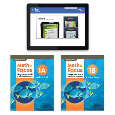 Math in Focus (STA) 1 Year Digital Student Edition with Resources Online Grade 1-9781328483898