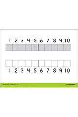 "Math Expressions (StA)  Comparing Mat - 9 X 12"" Coated Heavy Cardstock (2 SIDED) Grade PreK-9781328578341"