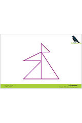 "Math Expressions (StA)  6x9 Shape Puzzles - 6 X 9"" Coated Heavy Cardstock (2 SIDED) Grade PreK-9781328578402"