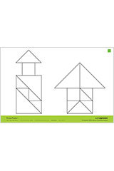 "Math Expressions (StA)  Picture Puzzle Cards - 6 X 9"" Coated Heavy Cardstock (2 SIDED) Grade PreK-9781328578419"