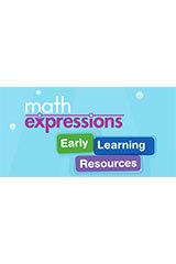 Math Expressions (StA)  Basic Early Learning Resources Package Grades Pre-K-9781328578440