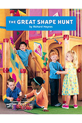 Math Expressions (StA)  Big Book Book 2 Grades Pre-K The Great Shape Hunt-9781328578839