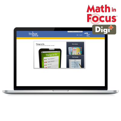 Math in Focus (STA) 1 Year Digital Digi+ for Student Online Grade 1-9781328588852