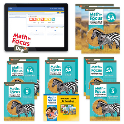 Math in Focus (STA) with 1 Year Digital Teacher Resource Package Digi+-9781328630728