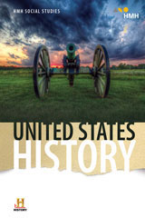 United States History with 5 Year Digital Class Set Student Resource Package W/Channel 1 Grades 6-8-9781328696526