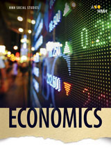 HMH Social Studies Economics  Hybrid Classroom Package 5 Year Print/5 Year Digital-9781328704214