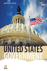 HMH Social Studies United States Government  Hybrid Classroom Package 8 Year Print/8 Year Digital-9781328704733