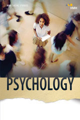 HMH Social Studies Psychology  Class Set Student Resource Package 1 Year Print/7 Year Digital-9781328705525