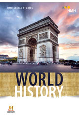 HMH Social Studies World History  Class Set Classroom Package 1 Year Print/8 Year Digital-9781328706195