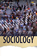 HMH Social Studies Sociology  Class Set Teacher Resource Package 1 Year Print/7 Year Digital-9781328711427