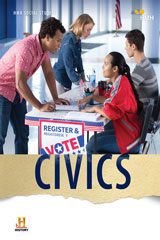 Civics 8 Year Print/8 Year Digital Hybrid Student Resource Package-9781328711762