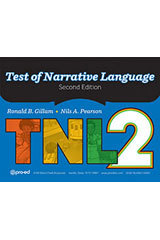 Test of Narrative Language–Second Edition  Complete Kit-9781328824806