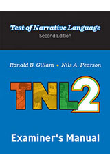 Test of Narrative Language–Second Edition  Examiner Record Booklet (Package of 25)-9781328824837