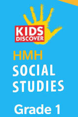 HMH Into Social Studies 6 Year Print/6 Year Digital Hybrid Student Resource Package Grade 1-9781328836656