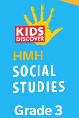 HMH Kids Discover Social Studies  Hybrid Student Resource Package (6yr Print/6yr Digital) Grade 3-9781328836670