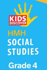 HMH Kids Discover Social Studies  Premium Student Resource Package w/Channel One (6yr Print/6yr Digital) Grade 4-9781328837677