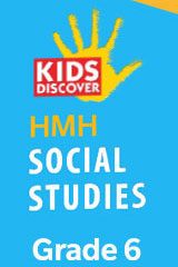 HMH Kids Discover Social Studies  Premium Student Resource Package w/Channel One (6yr Print/6yr Digital) Grade 6-9781328837691