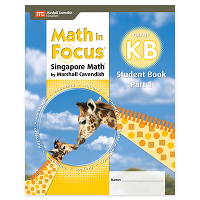 Math in Focus (STA)  Student Edition Book B Part 1 Grade K-9781328880598