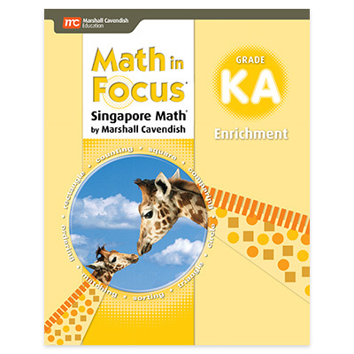 Math in Focus (STA)  Enrichment Blackline Master A Grade K-9781328880635