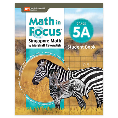 Math in Focus (STA)  Student Edition Book A Grade 5-9781328880888