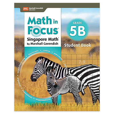 Math in Focus (STA)  Student Edition Book B Grade 5-9781328880895