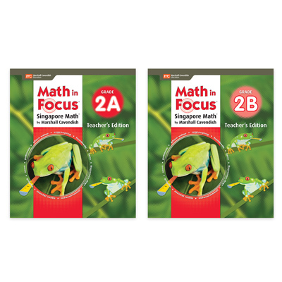 Math in Focus (STA)  Teacher Edition Set Grade 2-9781328978615