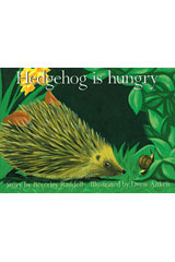 Rigby PM Platinum Collection  Individual Student Edition Red (Levels 3-5) Hedgehog is Hungry-9781418900304