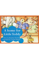 Rigby PM Platinum Collection  Individual Student Edition Red (Levels 3-5) A Home for Little Teddy-9781418900434
