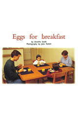 Rigby PM Platinum Collection  Individual Student Edition Red (Levels 3-5) Eggs for Breakfast-9781418900458