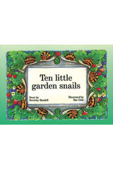 Rigby PM Platinum Collection  Individual Student Edition Green (Levels 12-14) Ten Little Garden Snails-9781418901134