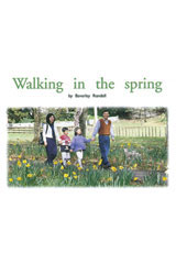 Rigby PM Platinum Collection  Individual Student Edition Green (Levels 12-14) Walking in the Spring-9781418901387