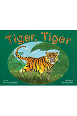 Rigby PM Platinum Collection  Leveled Reader 6pk Red (Levels 3-5) Tiger, Tiger-9781418901417