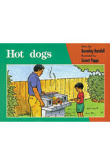 Rigby PM Platinum Collection  Leveled Reader 6pk Red (Levels 3-5) Hot Dogs-9781418901479
