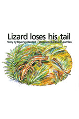 Rigby PM Platinum Collection  Leveled Reader 6pk Red (Levels 3-5) Lizard Loses His Tail-9781418901547