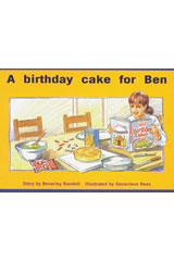 Rigby PM Platinum Collection  Leveled Reader 6pk Red (Levels 3-5) A Birthday Cake for Ben-9781418901585