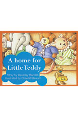 Rigby PM Platinum Collection  Leveled Reader 6pk Red (Levels 3-5) A Home for Little Teddy-9781418901639