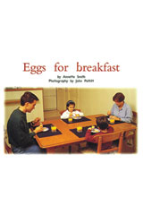 Rigby PM Platinum Collection  Leveled Reader 6pk Red (Levels 3-5) Eggs for Breakfast-9781418901653