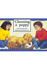 Rigby PM Platinum Collection  Leveled Reader 6pk Yellow (Levels 6-8) Choosing a Puppy-9781418901899