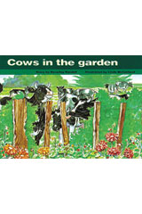 Rigby PM Platinum Collection  Leveled Reader 6pk Blue (Levels 9-11) Cows in the Garden-9781418902131