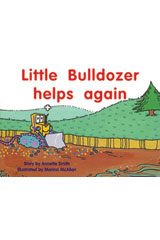 Rigby PM Platinum Collection  Leveled Reader 6pk Blue (Levels 9-11) Little Bulldozer Helps Again-9781418902179