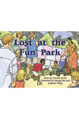 Rigby PM Platinum Collection  Leveled Reader 6pk Blue (Levels 9-11) Lost at the Fun Park-9781418902193