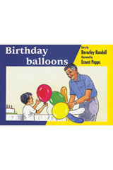 Rigby PM Platinum Collection  Leveled Reader 6pk Blue (Levels 9-11) Birthday Balloons-9781418902209