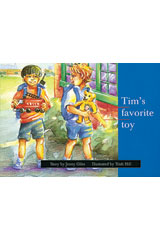 Rigby PM Platinum Collection  Leveled Reader 6pk Blue (Levels 9-11) Tim's Favorite Toy-9781418902216