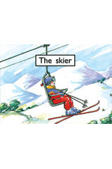 Rigby PM Platinum Collection  Individual Student Edition Magenta (Levels 1-2) The Skier-9781418903633