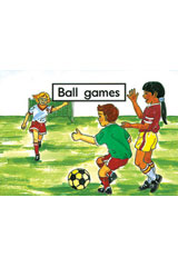 Rigby PM Platinum Collection  Leveled Reader 6pk Magenta (Levels 1-2) Ball Games-9781418904081