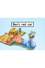 Rigby PM Platinum Collection  Leveled Reader 6pk Magenta (Levels 1-2) Ben's Red Car-9781418904098