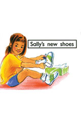 Rigby PM Platinum Collection  Leveled Reader 6pk Magenta (Levels 1-2) Sally's New Shoes-9781418904227