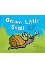 Rigby Flying Colors  Individual Student Edition Red Brave Little Snail-9781418905378