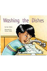 Rigby Flying Colors  Individual Student Edition Red Washing the Dishes-9781418905385