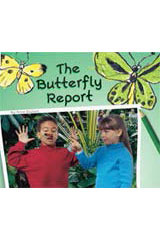Rigby Flying Colors  Individual Student Edition Red The Butterfly Report-9781418905477